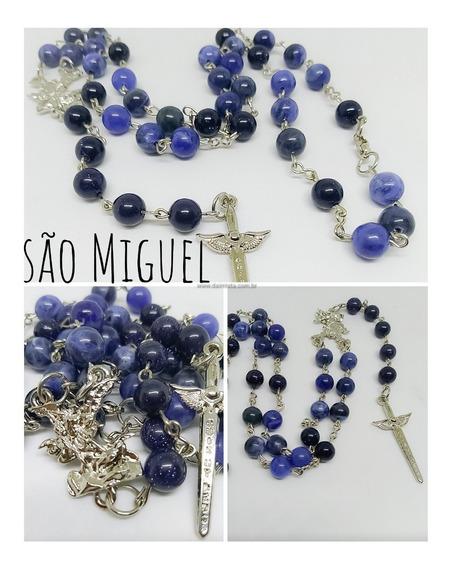Terço De São Miguel 9 Saudações Pedra Estrela E Sodalita