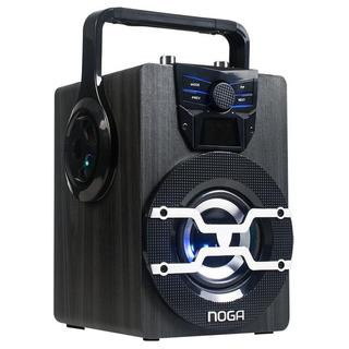Parlante Portatil Bluetooth Torre Noga Luces Cyber Monday