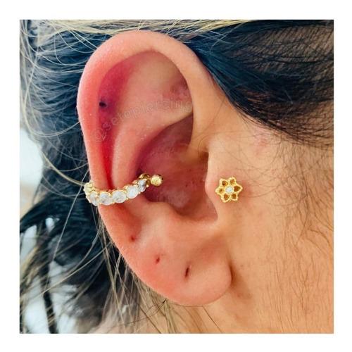 Piercing Brinco Argola Conch Orelha Cartilagem Co21 Mercado Livre