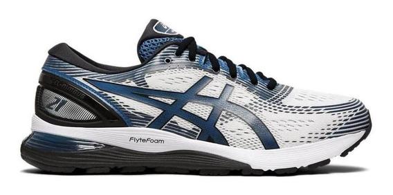 Tênis Running Asics Masculino Gel Nimbus 21 1011a169 Macio
