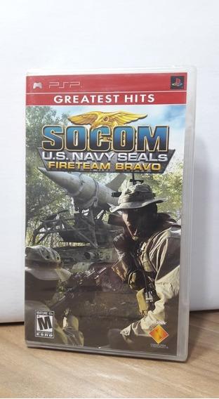 Socom Us Navy Seals Fireteam Bravo Psp Lacrado