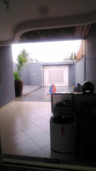 Casa Com 1 Dormitório À Venda, 77 M² Por R$ 279.000 - Loteamento Residencial Jardim Esperança - Americana/sp - Ca1272