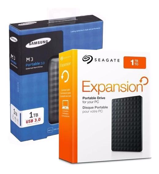 Hd Externo Seagate Samsung 1tb Usb 3.0 Original !!!