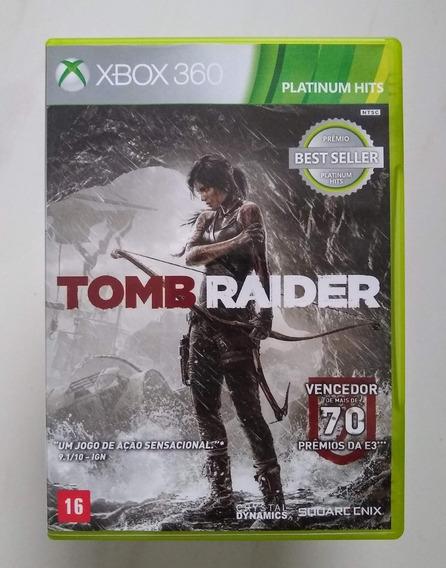 Tomb Raider Xbox 360 Original Seminovo