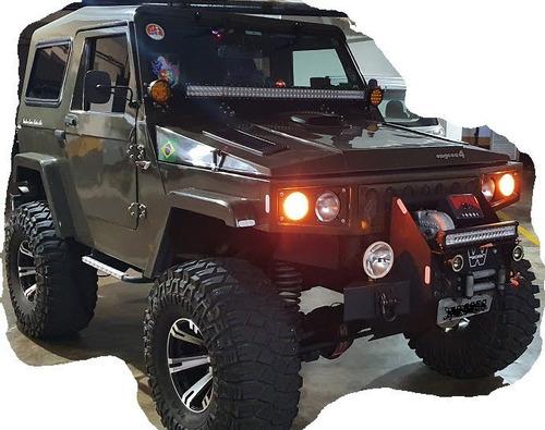 Jipe Engesa 4x4 Turbo Diesel Completo