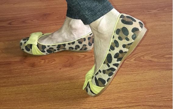 Ballerinas Chatitas Zapatos Flats Animal Print 38