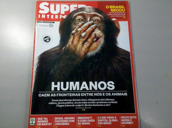Super Interessante. Humanos.edição 339 Nov. 2014