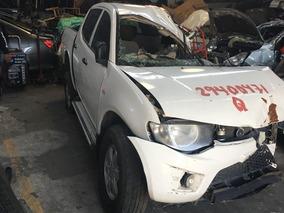 L200 2014 Gasolina Partes Desarme De Aseguradora Refacciones
