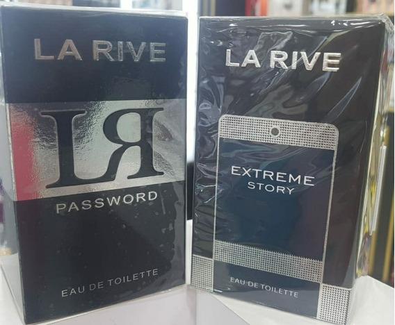 Kit Perfume La Rive Ir Password 75ml+la Rive Extreme Story