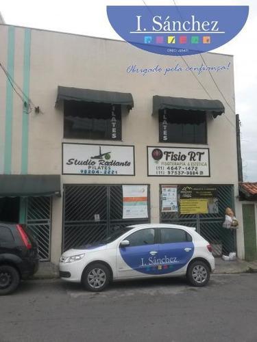 Imagem 1 de 11 de Sala Comercial Para Locação Em Itaquaquecetuba, Centro, 2 Banheiros - 181107b_1-1005500