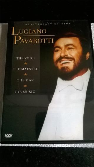 Dvd Luciano Pavarotti : The Voice, The Maestro, The Man E Th