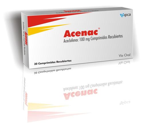 Acenac 100 Mg X 30 Comp