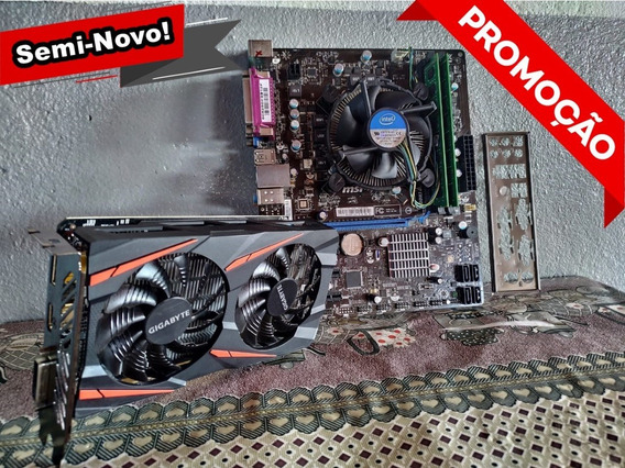 Kit Upgrade 1155 I5 2310 2º Geração + 8gb Ram + Mobo Msi