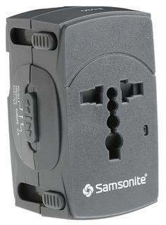 Samsonite En Todo El Mundo Adaptador Plug