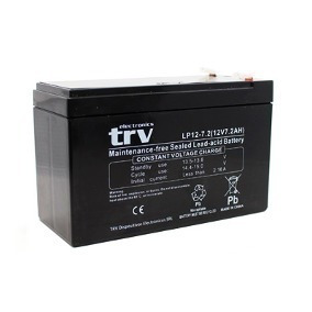 Bateria Trv 12v 7a Recargable P/ Alarma Ups Iluminacion