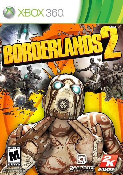 Jogo Borderlands 2 - Xbox 360 - Novo - Mídia Física -lacrado