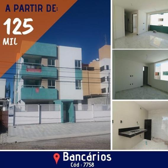 Apartamento Para Venda Em João Pessoa, Bancarios, 1 Dormitório, 1 Banheiro, 1 Vaga - 7758