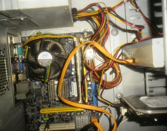 Pc Intel Dual Core E2200 2.2 Ghz, 2gb Ram, Dd 80gb