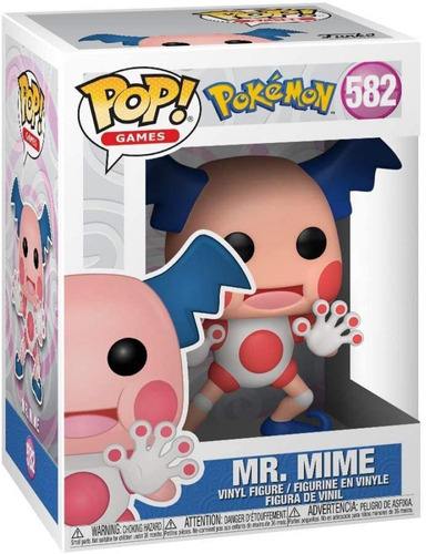 Funko Pop Pokemon Mr. Mime