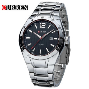 Curren Mens Relógios Top Marca De Luxo Militar Relógios De P