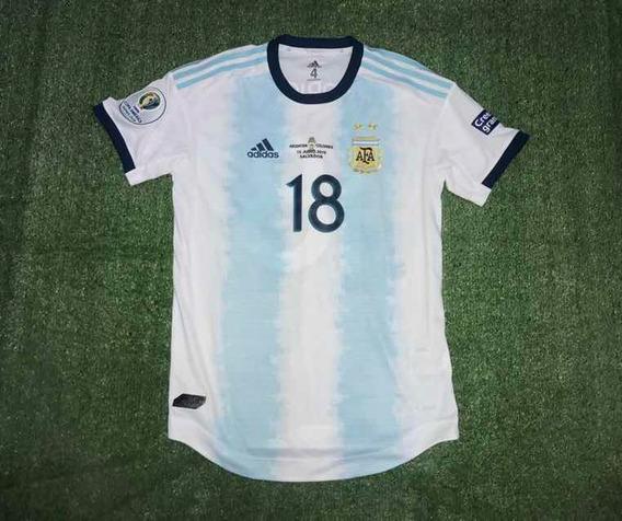 Camiseta De Argentina 2019 Copa America Utileria Rodriguez