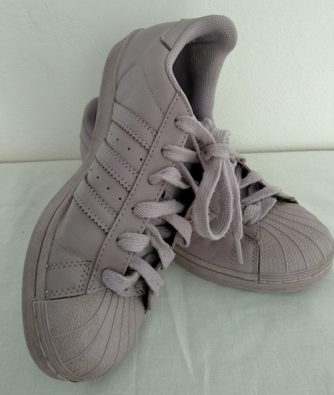Zapatillas adidas Superstar (39) Lila