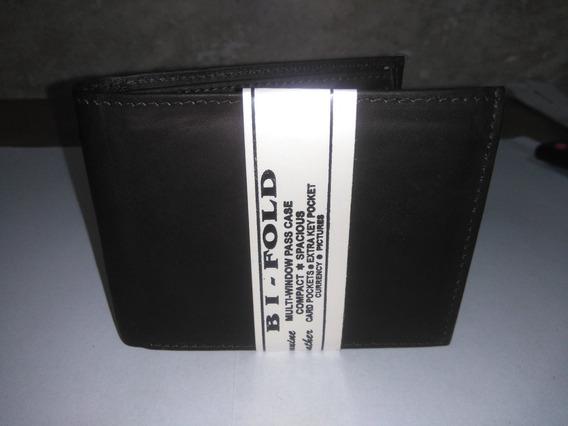 Cartera Billetera Para Caballero De Piel.. Genuine Leather