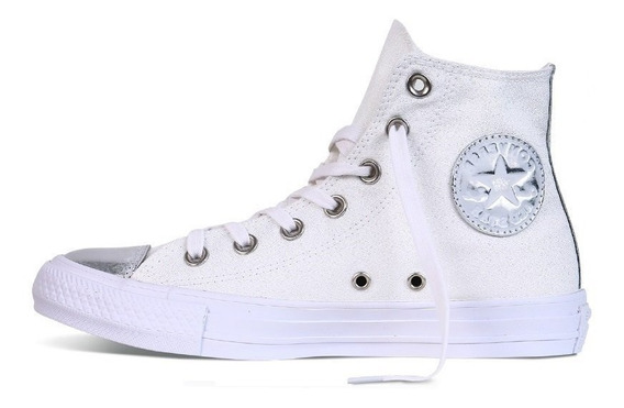 Zapatillas Converse Chuck Taylor Brush Off Toecap White
