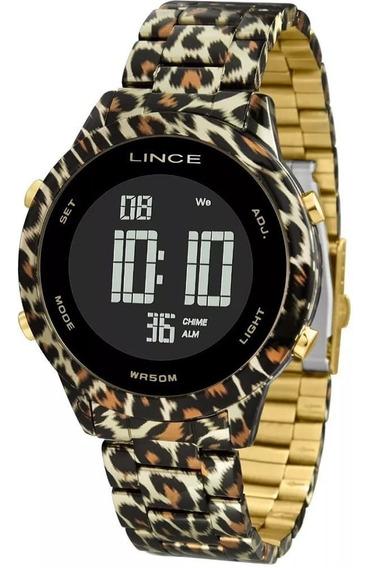 Relógio Urban Feminino Clássico Negativo Sdph103l Onça