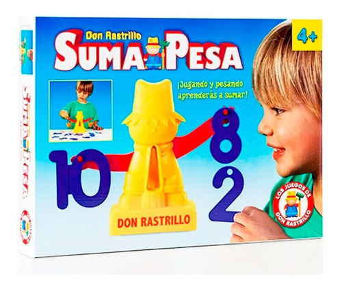 Juego Don Rastrillo Suma Y Pesa 463