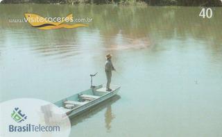 Cartão Telefônico Mato Grosso - Cáceres - Bm4
