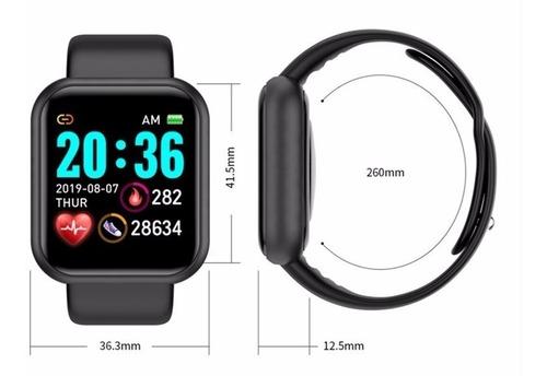 Relogio Inteligente Smartwatch D20 Bluetooth Branco | Mercado Livre