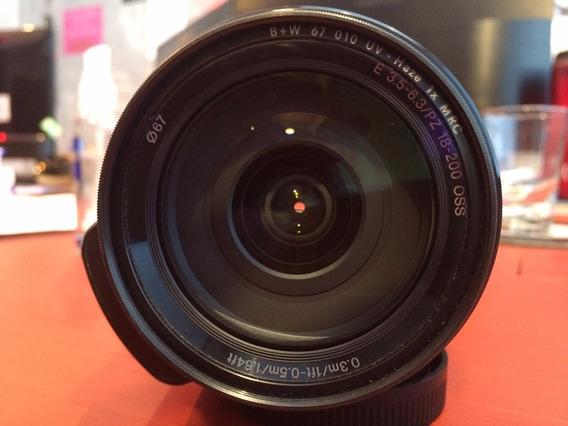 Lente Sony E Pz 18-200mm F/3.5-6.3 Oss