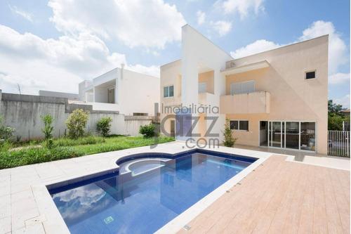 Casa  Residencial À Venda, Alphaville Dom Pedro, Campinas. - Ca2484