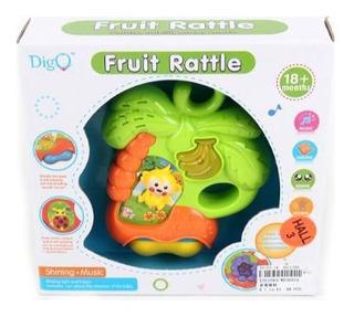 Sonajero Fruit Rattle Mono Musical