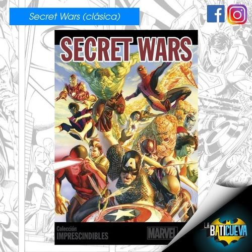 Comic Secret Wars Marvel Edición Especial