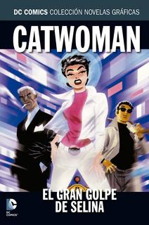 Coleccion Dc Salvat - Catwoman - El Gran Golpe De Selina