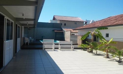 Perequê - Centro - Excelente Casa Com Piscina. - Es440