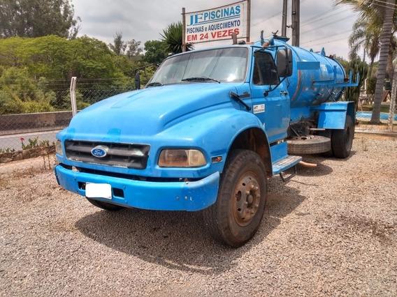 Ford 12000 Ano 1995 Com Desentupidor De Fossa