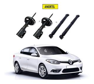4 Amortecedor Dianteiro/traseiro Renault Fluence 11 Até 17