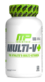 Multi V Multivitaminico - 60 Cáps - Musclepharm Mp
