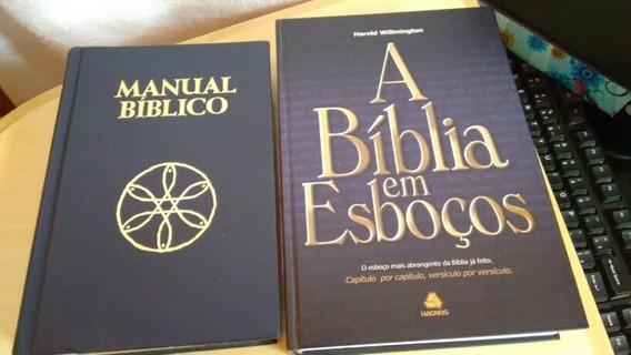 Kit Manual Bíblico + A Bíblia Em Esboços