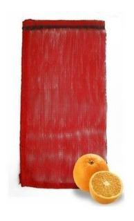 Arpillas Para Naranja Media 40x65 Cm De Largo 500 Piezas