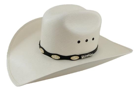 Sombrero Vaquero 100 X Marca West Point Color Natural Nylon