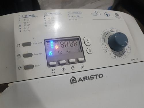 Lavarropa Ariston Avtf 129 Funciona Pero Con Error Plaqueta