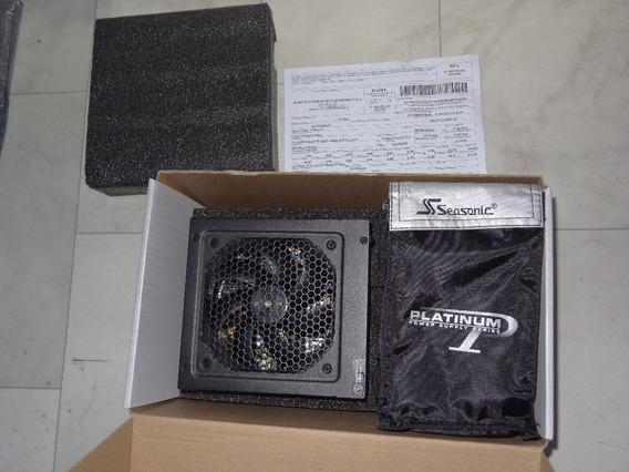 Fonte Seasonic Platinum Ss-660xp2 660w Rtx2060 Rtx2080 Gtx