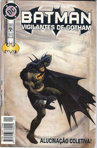 Imagem 1 de 1 de Batman Vigilantes De Gotham 20