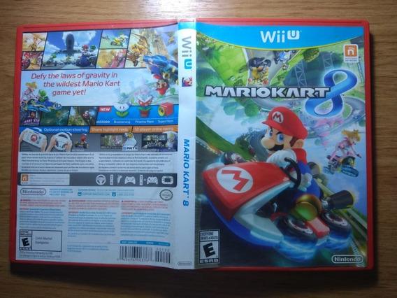 Mario Kart 8 Wiiu. Mídia Física. Excelente Estado. Lindo!