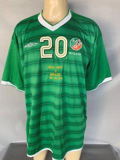 Camisa Irlanda #20 De Jogo Utilizada Amistoso X Brasil 2004