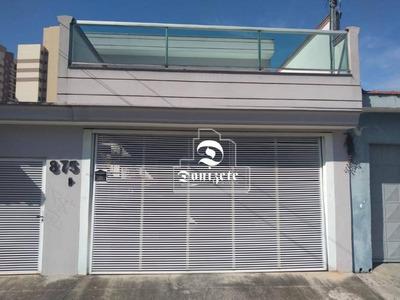 Sobrado Com 3 Dormitórios À Venda, 200 M² Por R$ 790.000 - Jardim Stella - Santo André/sp - So2544